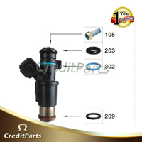 Fuel Injector Service kits