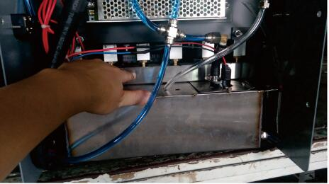 How to clean the solenoid value of fuel injector testing machine ?